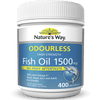 Nature's Way Odourless Fish Oil 1500mg 400 Capsules