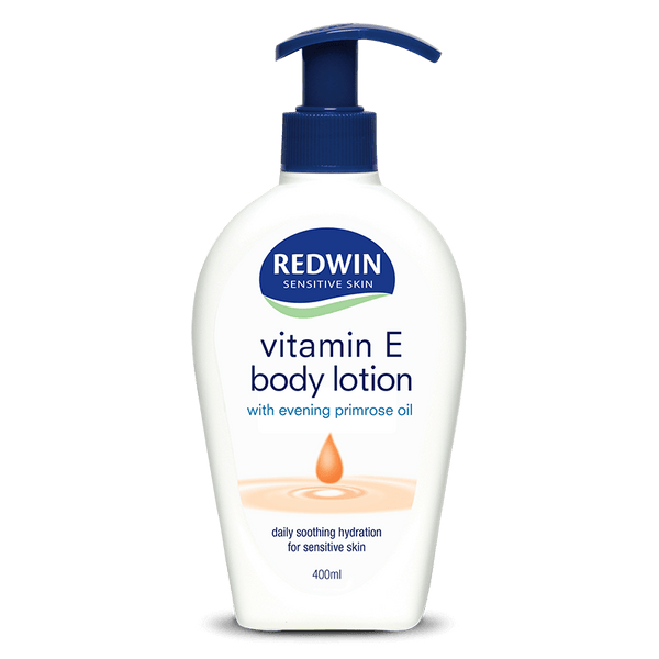 Redwin Body Lotion with Vitamin E and Evening Primrose Oil 400ml Pump Pack