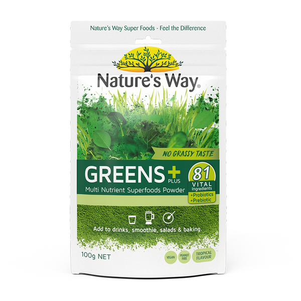 Nature's Way SUPER GREENS PLUS 100g