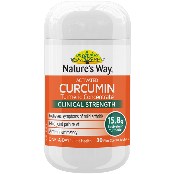 Nature's way ACTIVATED CURCUMIN TURMERIC CONCENTRATE 30s