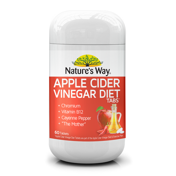 Nature's Way Apple Cider Vinegar Diet Tablets 60s