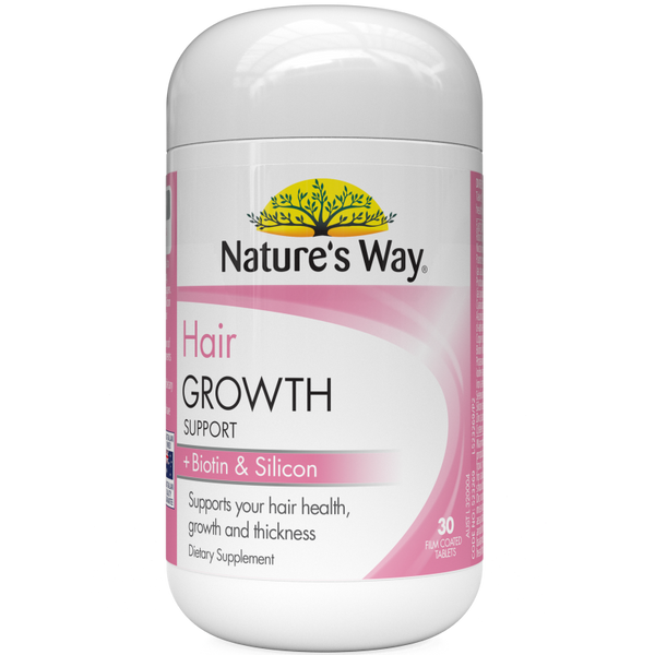 Nature's Way Hair Growth Support Tablets