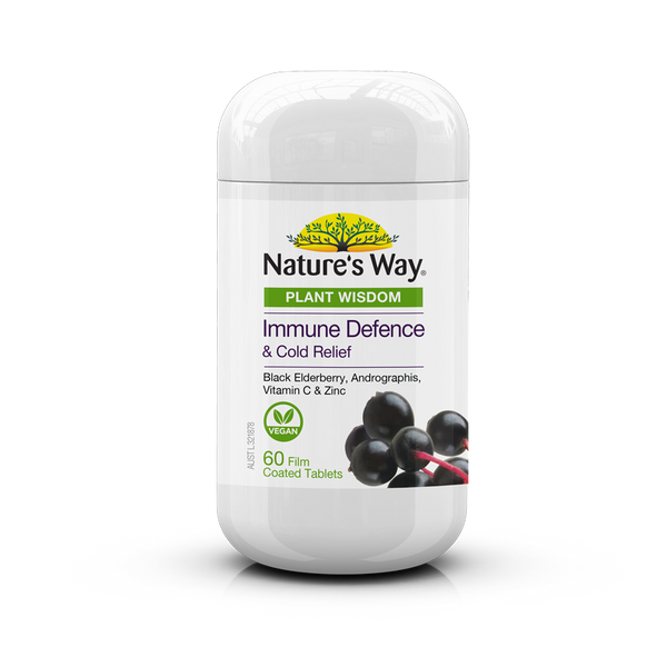 Nature's Way Plant Wisdom Immune 60 Tablets