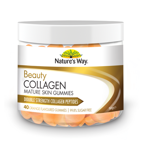 Nature's Way Beauty Collagen Mature Skin Gummies