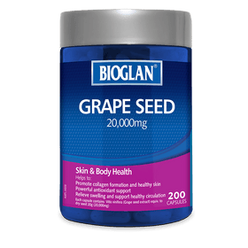 Bioglan Grape Seed 20000mg 200s