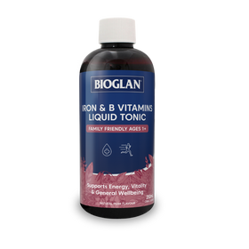 Bioglan Iron & B Vitamins Liquid Tonic 250mL