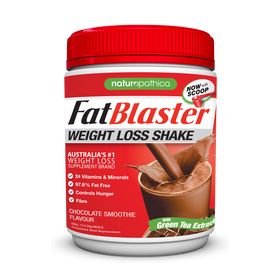 FatBlaster Weight Loss Shake Chocolate 30% Less Sugar 430g