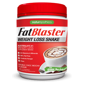 FatBlaster Weight Loss Shake Double Choc Mocha 30% Less Sugar 430g