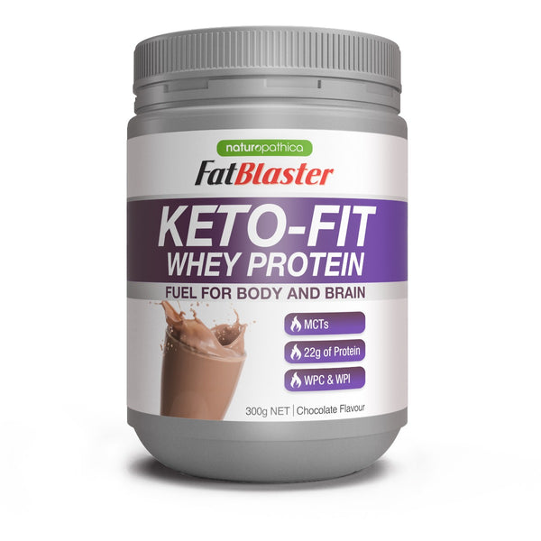FatBlaster Keto-Fit Whey Protein Chocolate 300g
