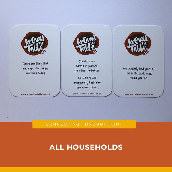 All Households Dinner Conversation Cards