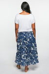 Aaliyah Frill Skirt in Whitsundays