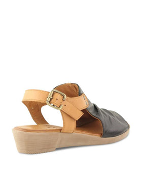 Bueno Aliah (LSA - Large Sizes Available) - Black/Coconut