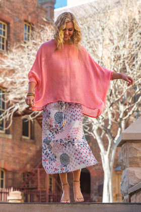 Asher Straight Skirt in Kastro