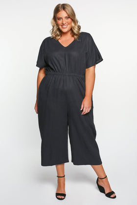 Betty Basics Jules Jumpsuit in Indi Grey
