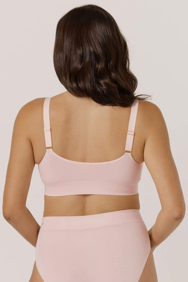 Bella BAMBOO Viscose Ultimate Adjustable Crop Bra 3 Pk