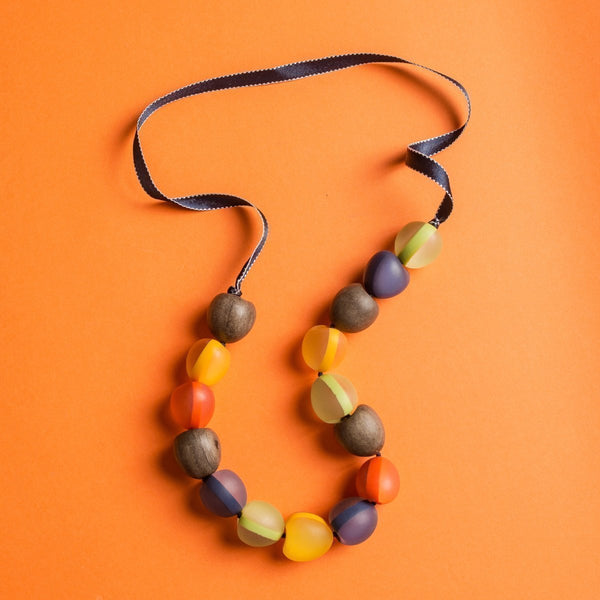 Sahara Resin Pod Necklace