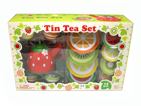 Fruit Tin Tea Set