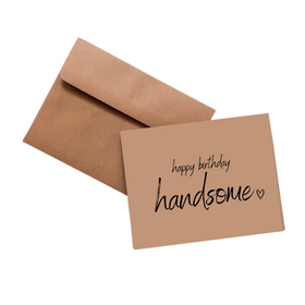 Simpli Happy Birthday Handsome Card
