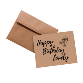 Simpli Happy Birthday Lovely Card