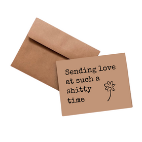 Simpli Sending Love Sh*tty Time Card