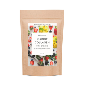 Pure Marine Collagen with Organic Strawberry Fruit - 200g