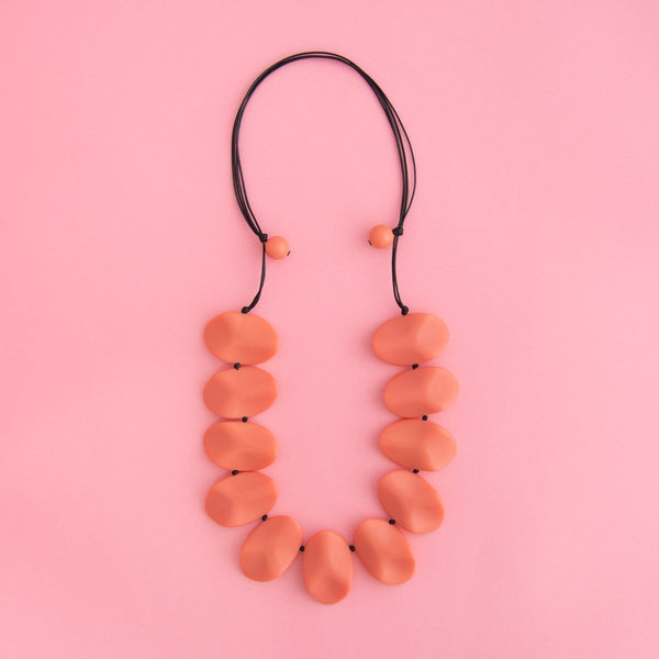 Everyday Wave Necklace (11 Colours Avail)