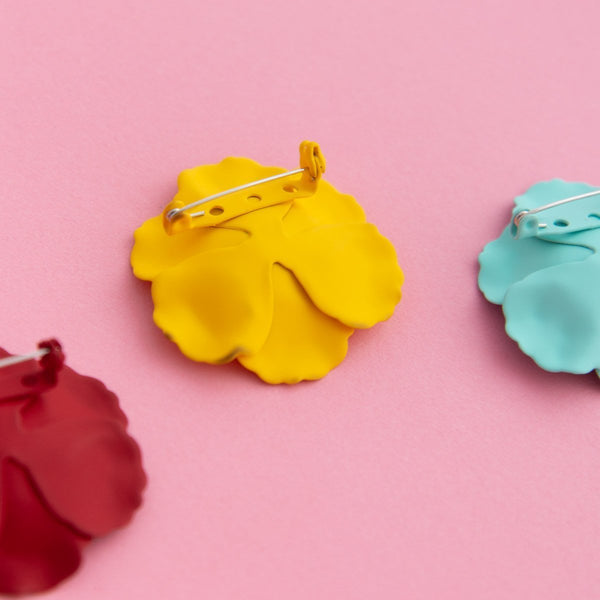 Bloom Petunia Brooch Set (8 Colours Avail)