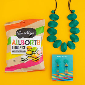 'You're Allsorts of Awesome' Aqua Gift Box
