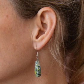 Oceania Artisan Droplet Earrings
