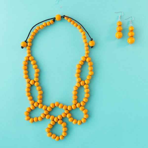 Maasa Weave Necklace (6 Colours Avail)