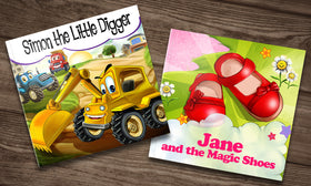 Personalised Children's Storybooks - 50% off