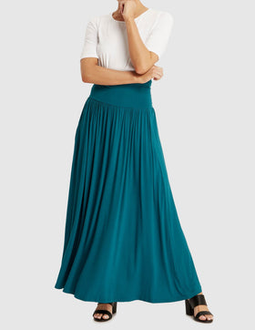 Isy Long Bamboo Skirt