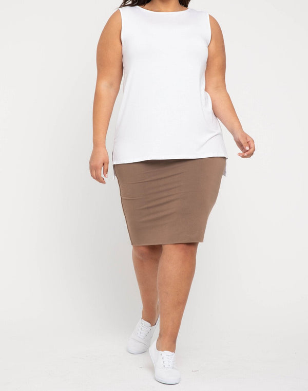 Double Layer Tube Skirt