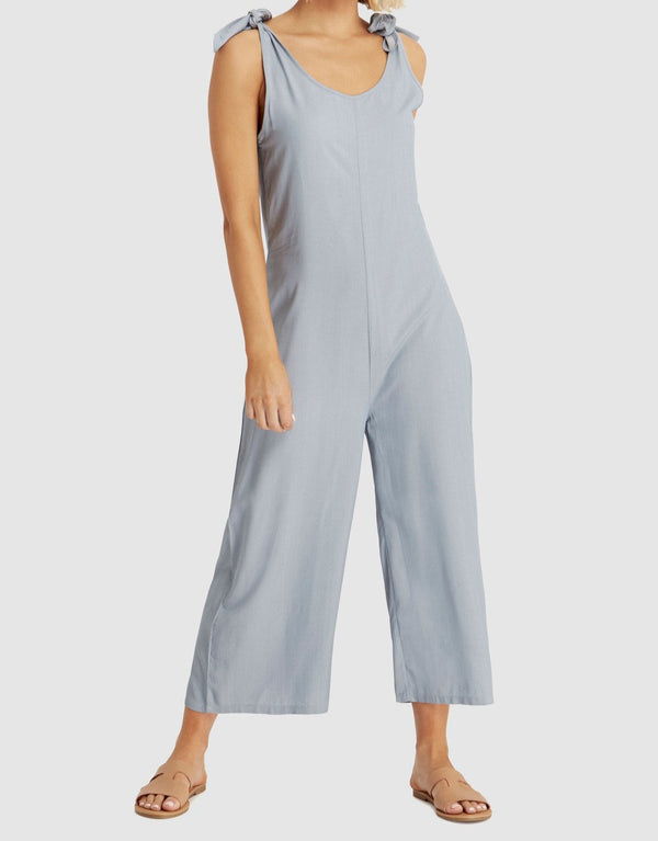 Woven Bamboo Jumpsuit