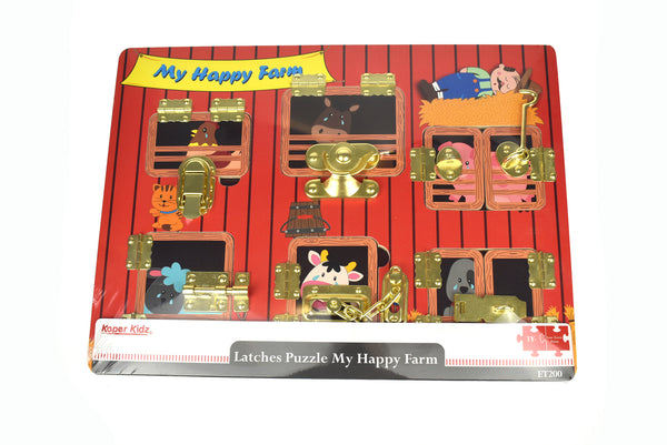 Latches Puzzle My Happy Farm