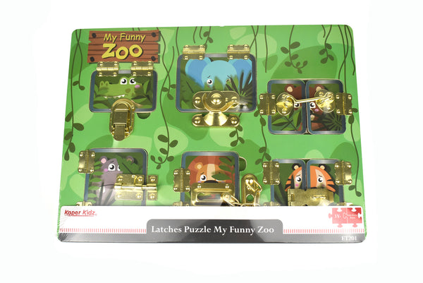 Latches Puzzle My Funny Zoo