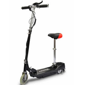 Electric Scooter With Seat 120 W - Black