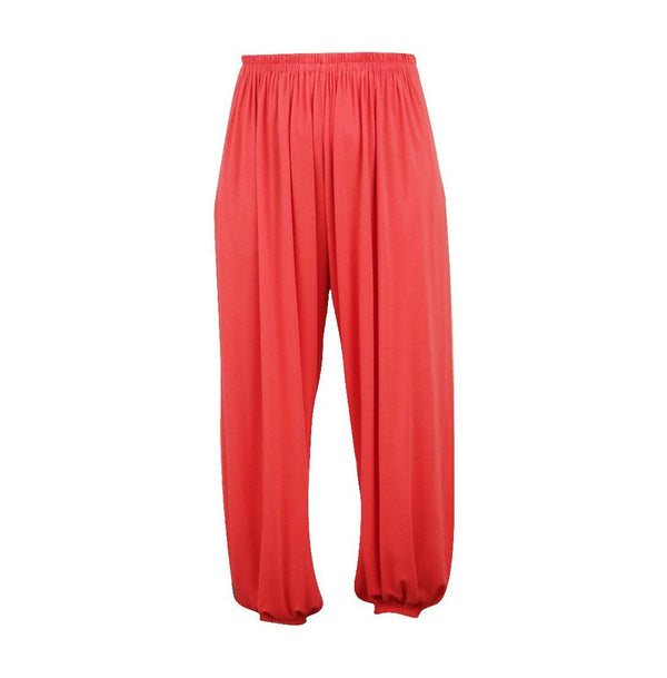 Edna Full Active Pants - Hibiscus - One Size