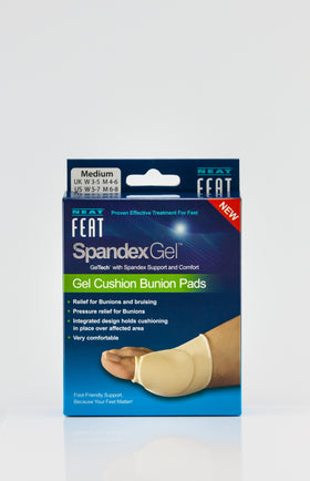 NEAT FEAT SPANDEX BUNION PAD SLEEVE MEDIUM