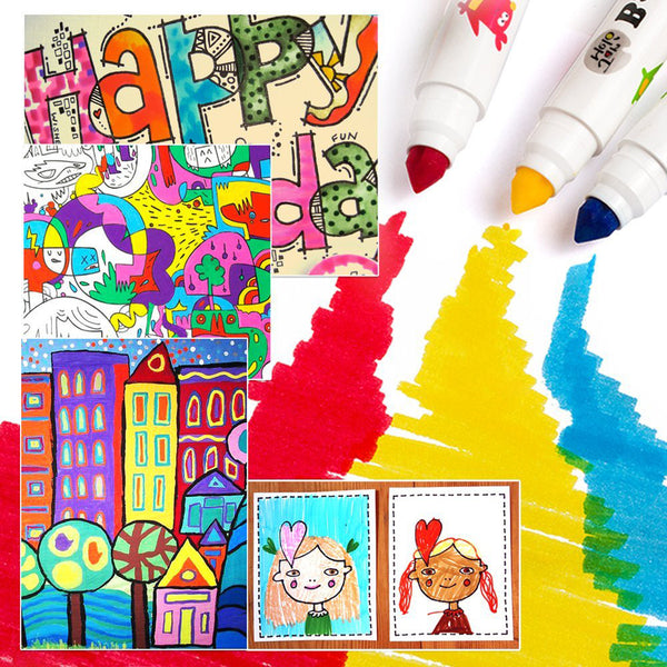 Washable Markers -baby Roo 48 Colors