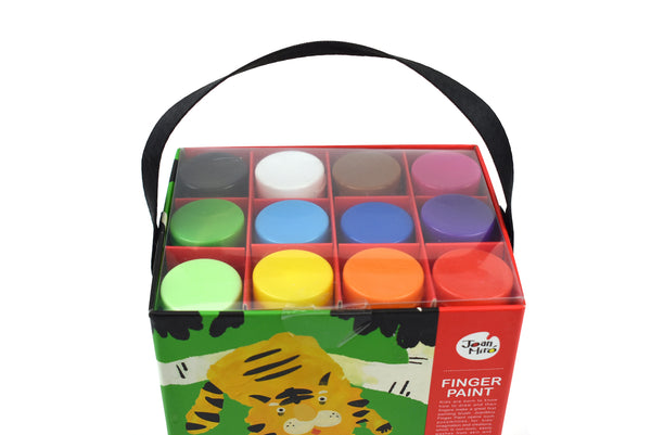 Finger Paint 12 Colors Set