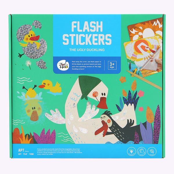 Flash Stickers-the Ugly Duckling