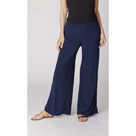 Wide Leg Must Have Pant - Navy