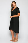 A-line Dress in Black