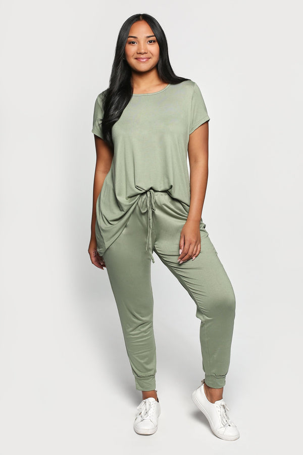 Jogger Pant in Sage