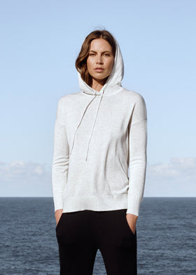 Knit Bamboo Hoodie