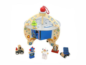 Flying saucer playset
