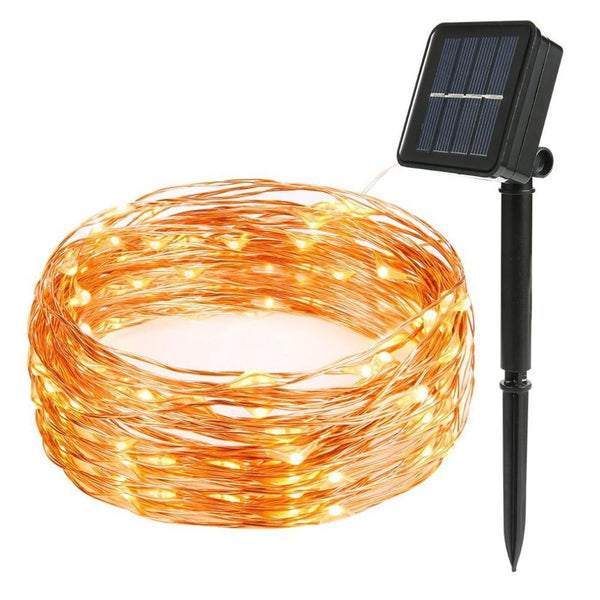 200LEDs Solar String Lights