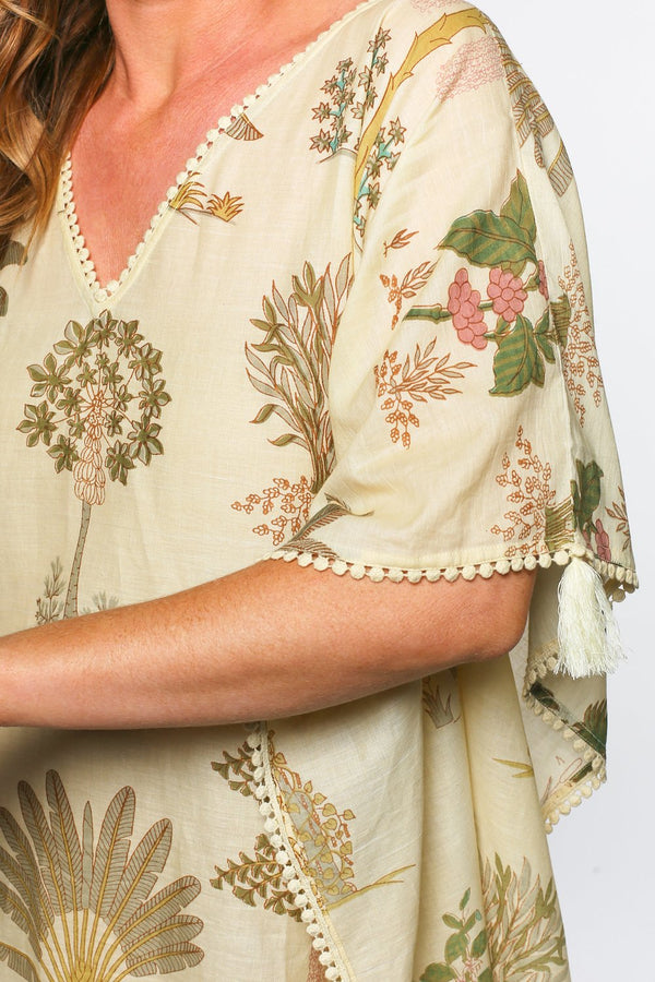 Liesl Shift Kaftan in Safari