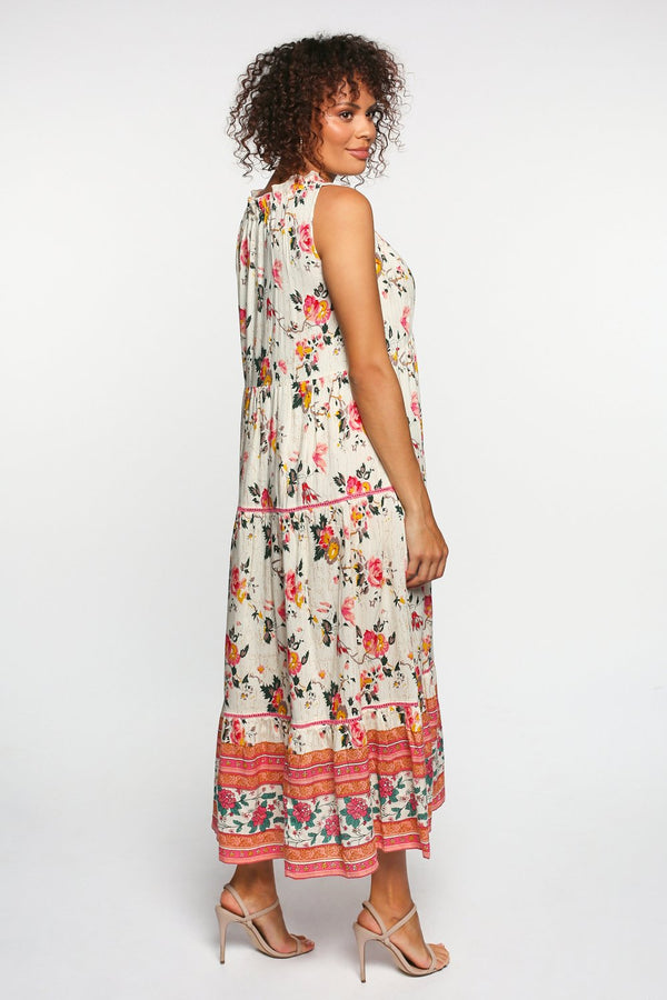 Lorraine Maxi Dress in Daphne